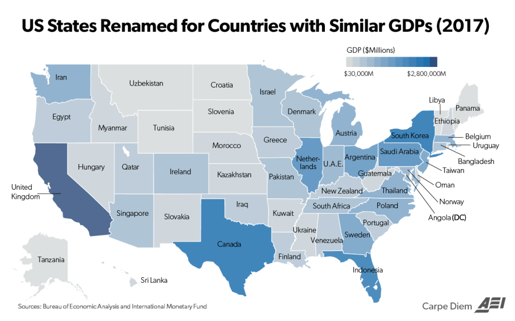 Mind boggling... The United States and the Size of It\'s Economy ...